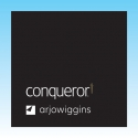 Conqueror Diamond White Wove Compliment Slips