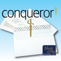 Printed DL Conqueror Window Envelopes
