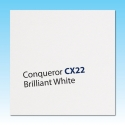 Conqueror CX22 Smooth Brilliant White WM Letterheads