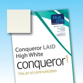 Conqueror LAID High White WM Letterheads