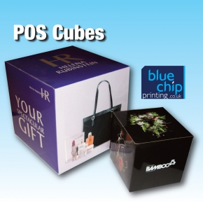 POS Cubes - For on Counter