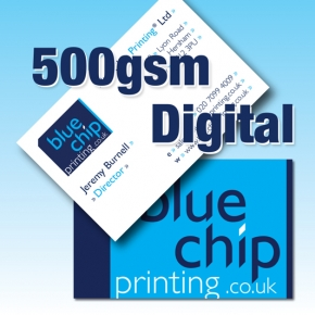 500gsm Premium Silk, Anti Scuff Satin Laminated Cards