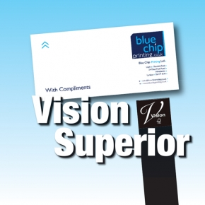 Vision Superior Brilliant White Compliment Slips