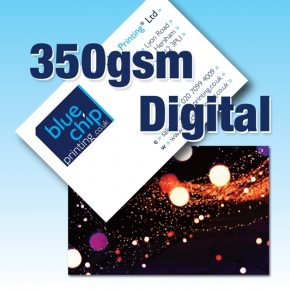 Digital 350gsm Silk Business Cards