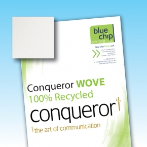 Conqueror 100% Recycled Wove Letterheads