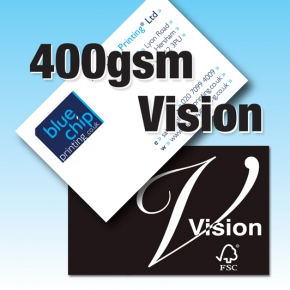 400gsm Vision Superior Business Cards