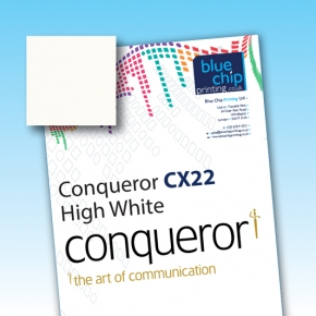 Conqueror CX22 Smooth High White WM