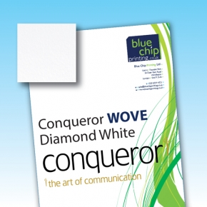 Conqueror Smooth WOVE Diamond White WM