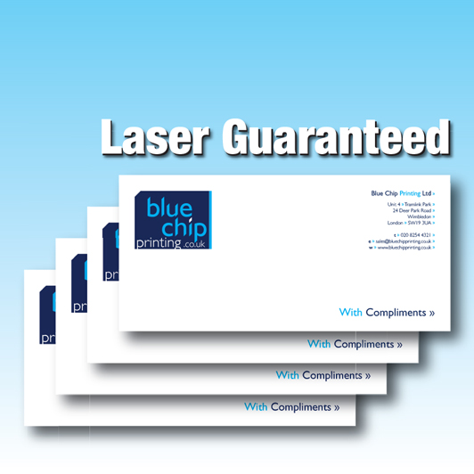 Compliment Slips | Laser Guaranteed Paper