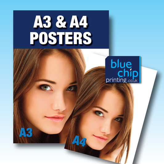A4 and A3 Colour Posters - Digitally Printed