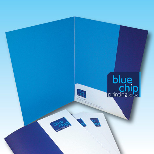 A4 Folder Interlock Flaps