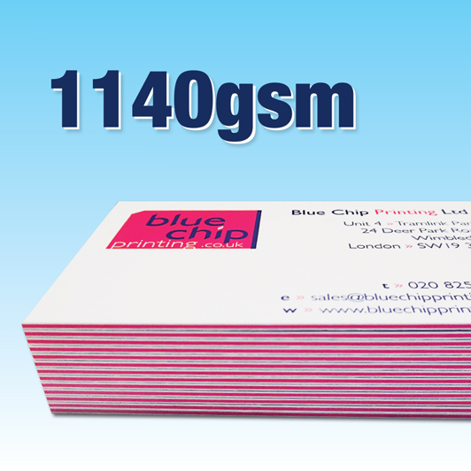 1140gsm Super Heavy Weight | Full Colour Business Cards