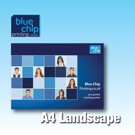 Full Colour A4 Brochures - Landscape