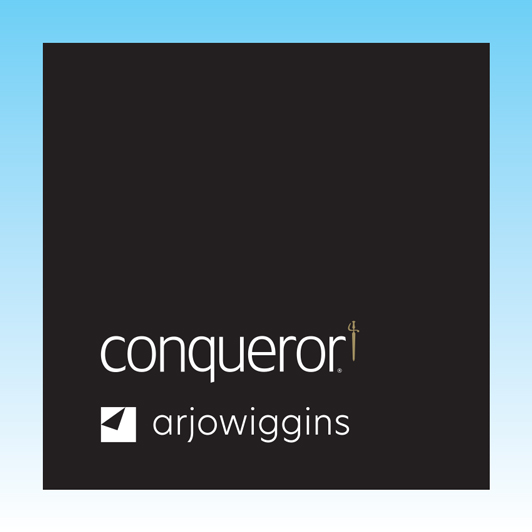 Conqueror Cream Wove Smooth Compliment Slips