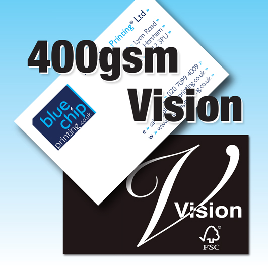 Business Cards | 400gsm Vision Superior Brilliant White