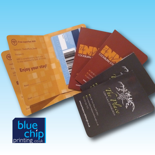 Hotel Key Card & Promotional Card Holders - From 4p each