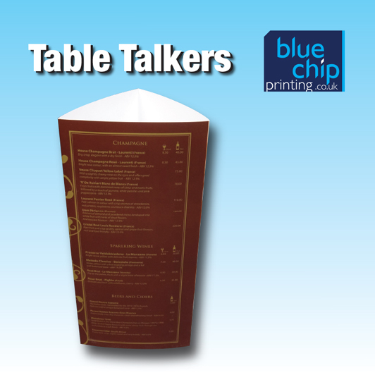 3 Panel Table Talkers