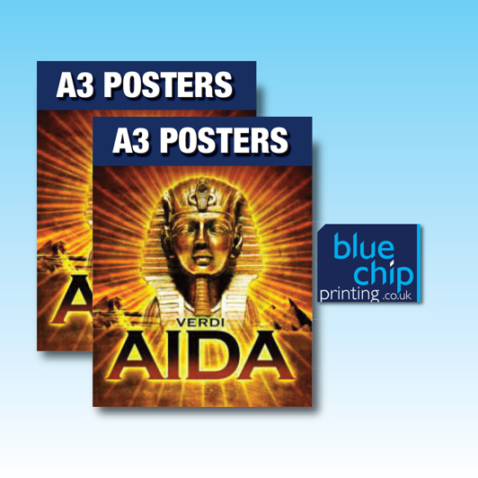 Premium A3 Posters - Printed Full Colour one side