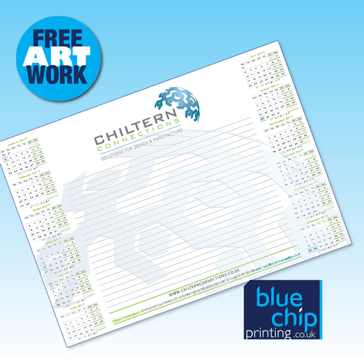 Personalised Desk Pads: Quality A5, A4, A3, A2 with Your Logo