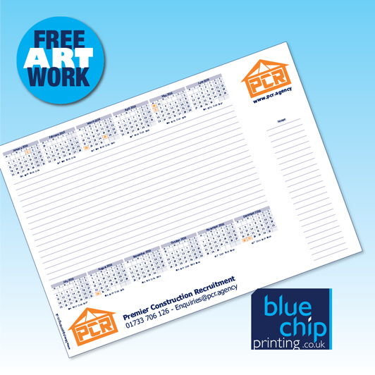 Personalised Desk Pads: Quality A3 or A2 with Your Logo - *FREE Artwork