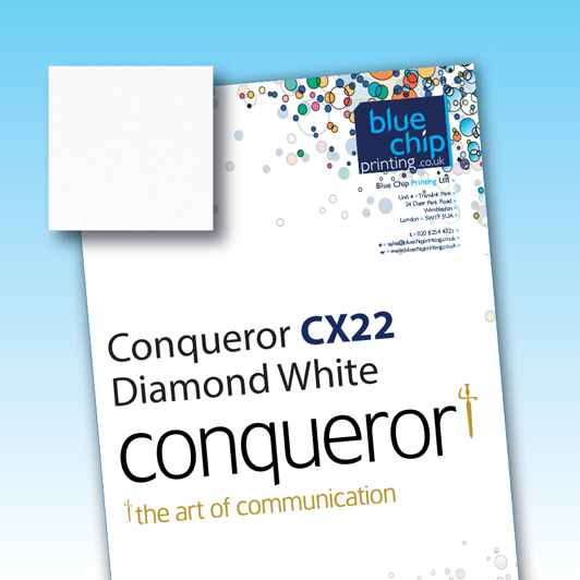 Conqueror CX22 Smooth Diamond White WM