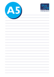A5 Notepads_1 Blue Chip Printing
